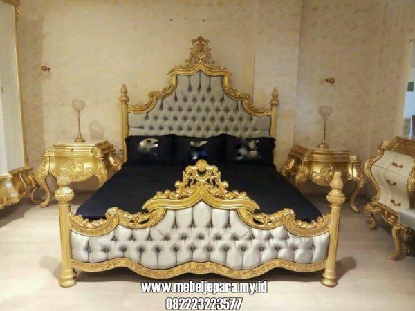 Tempat Tidur Pengantin Klasik Mewah