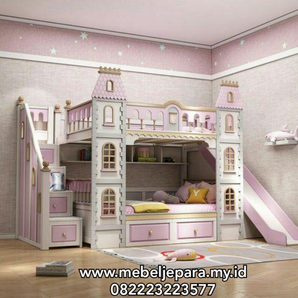Model Tempat Tidur Anak Perosotan Modern