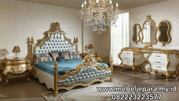 Tempat Tidur Mewah Ukiran Klasik Jepara