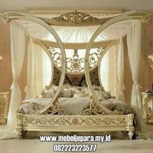 Desain Kamar Tidur Romantis Model Kanopi