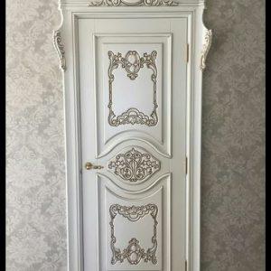 Pintu Kamar Putih Desain Mewah Terbaru