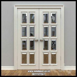 Pintu Kamar Tidur Kaca Model Kupu Tarung