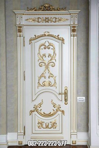 Pintu Kamar Klasik Eropa Cat Duco Terbaru