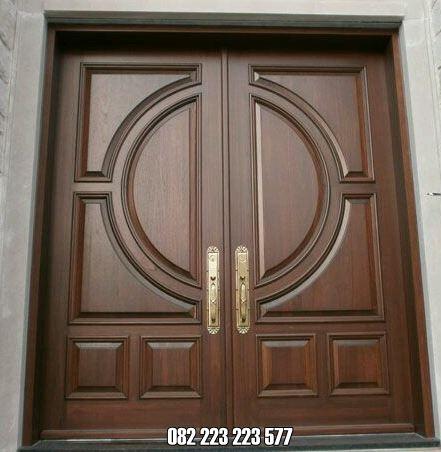 Pintu Utama Jati Minimalis Harga Murah