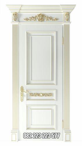 Model Pintu Kamar Klasik Mewah Cat Duco