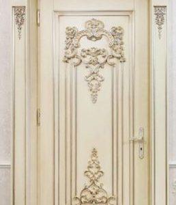 Model Pintu Kamar Klasik Ukir Mewah Jepara