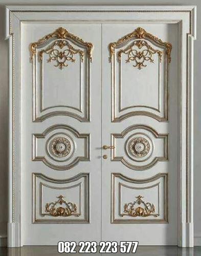 Pintu Klasik Minimalis Mewah Cat Duco
