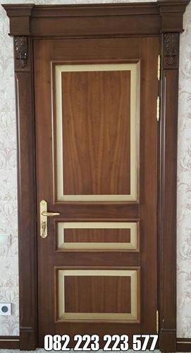 Pintu Murah Untuk Kamar Minimalis Kayu Jati
