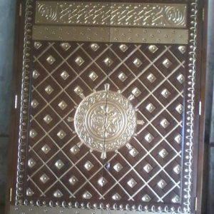 Pintu Nabawi Untuk Masjid Kayu Jati Jepara