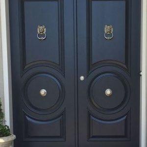 Model Pintu Minimalis Elegan Daun Kupu Tarung