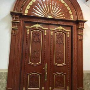Pintu Rumah Klasik Mewah Model Terbaru Jati Jepara