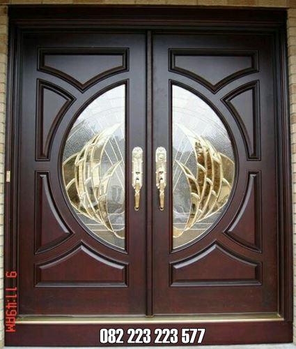 Kusen Pintu Minimalis Kayu Jati Kupu Tarung Terbaru