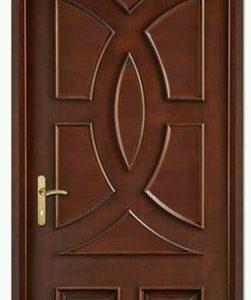 Pintu Kamar Jati Jepara Model Profil Setengah Lingkaran