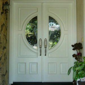 Pintu Minimalis Modern Kusen Utama Kupu Tarung Rumah Mewah