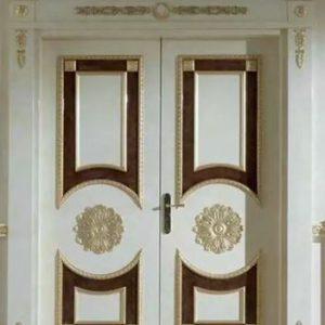 Pintu Rumah Eropa Desain Mewah Ukir Klasik Jepara