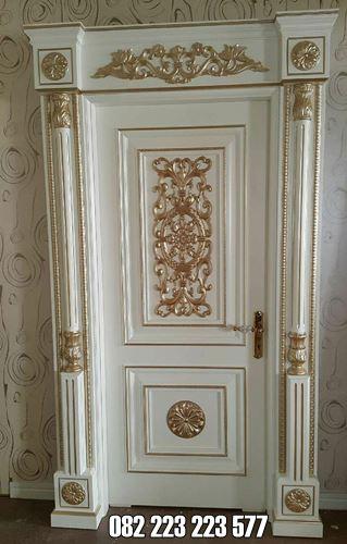 Pintu Ukir Untuk Kamar Tidur Utama Model Klasik Mewah