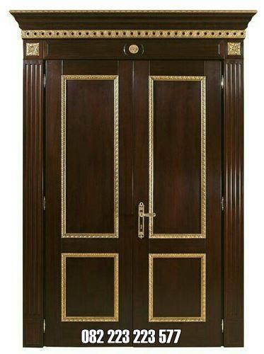 Kusen Pintu Minimalis Jati Model Simple Elegan
