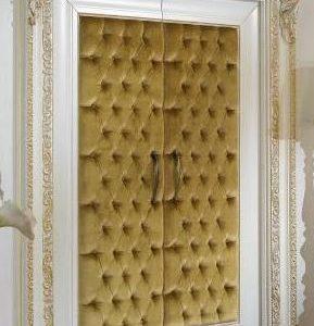 Pintu Motif Jok Busa Kupu Tarung Desain Mewah