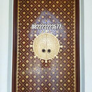 Kusen Pintu Masjid Kayu Jati Model Nabawi