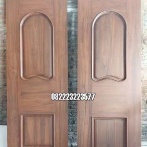 Pintu Jati Minimalis Untuk Kusen Utama Dan Kamar