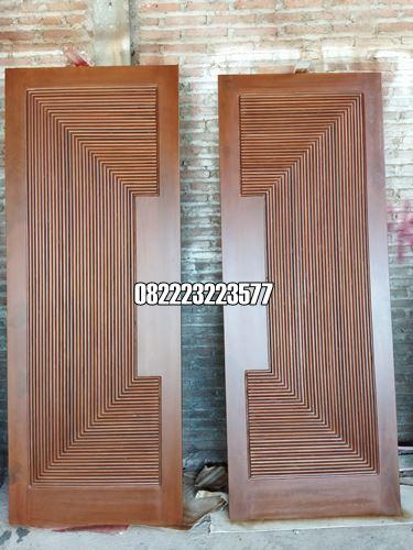 Pintu Utama Rumah Mewah Desain Minimalis Modern